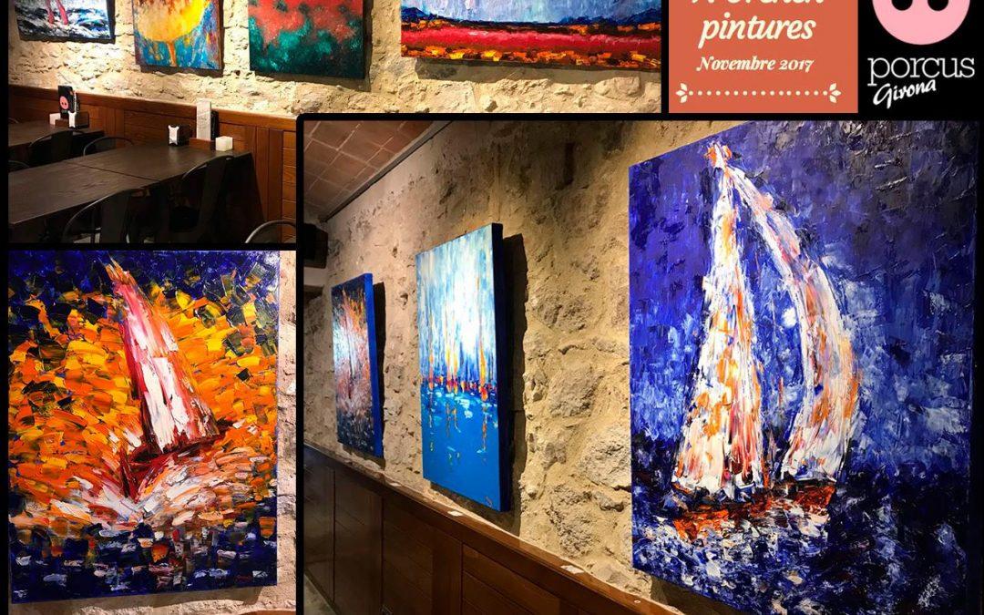 Exposició Francesc Orench al Porcus Girona
